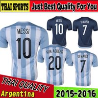 discount soccer jerseys - DHL freeshipping Copa America cheap soccer jerseys Customized Argentina Home Thai Quality Discount Football Top Soccer Tops