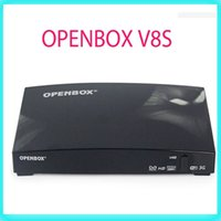Wholesale Openbox V8S Digital Satellite Receiver SupporYoutube Youporn CCCAMD NEWCAMD S V8 Support WEBTV Biss Key xUSB Slot USB Wifi G S V8