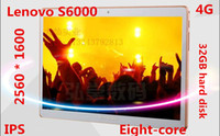 Wholesale Lenovo S6000 inch Tablet PC phone call G G WiFi Dual SIM Dual Camera HD Android Tablet PC