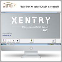 Wholesale Neueste Version WIN bit Mercedes Benz Stern Software Diagnostic Tools Version arbeitet mit MB Diagnosewerkzeug