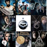 alloy catalog - Despicable Me Harry Potter Marvel s The Avengers Game of Thrones The Hunger Games Frozen etc movie games peripheral jewelry catalog