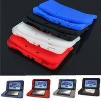 3ds xl - Solid Color Silicone Soft Gel Protective Case Cover for New Nintendo DS XL LL