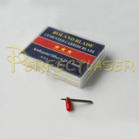 Wholesale 45 Degree Roland Cutting Blade For Cutting Vinyl Plotter Roland Knife Standard Red cap