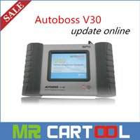 auto offer - 2016 Special offer Original SPX autoboss v30 auto scanner Free Update Online better than launch x431 diagun DHL FEDEX