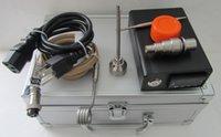 Wholesale 2015 Cheapest D nail E nail temperature control box heater coils glass bong water piper titanium nail dabber carp cap silicone jar with DHL