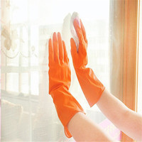 Wholesale Price High Quality Waterproof Rubber Latex Gloves for Dish Washing Laundry Housework