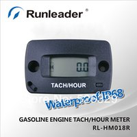 Wholesale RL HM018R Inductive tachometer Resettable Hour Meter Maintenance reminder
