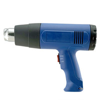 Wholesale New Heat Gun Hot Air Gun Dual Temperature Nozzles Power Tool W V Heater Gun High Quality