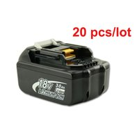 Wholesale EAST spare parts Rechargeable batteries for Makita BL1830 LXT Lithium Ion Ah Battery power tool spares for power tools