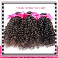 wholesale dora - Belle Dora Unprocessed Virgin Brazilian Peruvian Indian Malaysian Afro Kinky Curly Human Hair deep Curly Weaves Virgin Hair Bundles