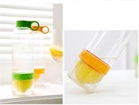 Wholesale New Design Fashion Lemon Drink Ware Fruit Juice Cup Popular Lemon Water Bottle Cup