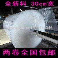 Wholesale C single CM M WIDTH CM LENGTH M Bubble film Bubble roll Shockproof air foam roll Foam packaging material size