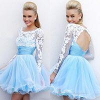 Cheap Fashion Womens Lace Mini Prom Ball Cocktail Evening Summer Short Dress Gown DH