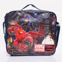 big lunch boxes - 24 CM Cartoon Big Hero Baymax lunchbag lunch box for kids