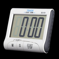 Wholesale 2016 LCD Digital Kitchen Timer Countdown Cooking Timer Count Down Alarm Clock