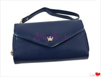 RANDOM american just - Just for gift lowesst price Coin Purses More beauty stylish Crown Smart Pouch Multi propose envelope Purse Wallet For Galaxy S2 S3 iphone