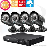 Wholesale HD channel CCTV System HDMI p p DVR KIT Full H Onvif NVR for IP Camera TVL outdoor security camera system A5