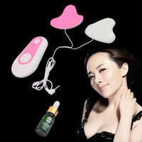 Wholesale Breast Massager Enhancer Enlarger Chest Controller Vibrating Pads Instrument Hot Selling