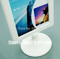 abs digital photo frame - ABS plastic digital photo frame used in bar hotel restaurant A4 display stand table menu display Size A4