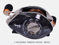 Wholesale Trulinoya Bearings Control Systems Right Left Hand Bait Casting Reel Centrifugal Magnetic Fresh Water Anti backlash