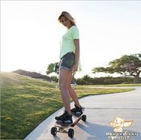 Wholesale 2014 New battery skateboard remote control battery skateboard High quality