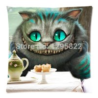 alice designer - Designer Beautiful Alice In Wonderland Cartoon Pillow Case Cover x18 Inch Rectangle Pillowcase pc18