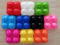 Wholesale 4 Large Sphere Molds Bar Drink Whiskey Big Round Ball Ice Brick Cube Maker Mold Mould Ice Balls Tray DHL free