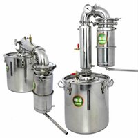 Wholesale Distiller Bar Household equipment wine limbeck distilled water baijiu large capacity vodka maker brew alcohol whisky
