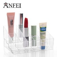 Wholesale Hot selling A rectangle Exhibition opening Lipstick frame Plastic display Jewelry Display rack girds Lipstick frame