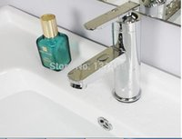 Wholesale fashionable style tall bathroom faucet deck mounted hot and cold water torneira para banheiro