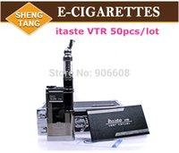 Cheap Innokin itaste VTR Electronic cigarette kit iClear 30S Atomizer Replaceable Dual Coil tank iTaste VTR Mechanical Mod 50pcs lot
