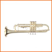trumpet bb - Trumpet Bb B Flat Brass Exquisite Made of High quality Brass with Mouthpiece Gloves Top Quality Musical Instruments