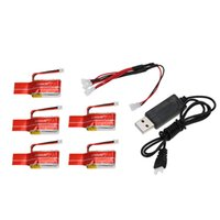 Wholesale GoolRC New V mAh C Lipo Battery with Charging Cable for JJRC H20 RC Hexacopter RM4941