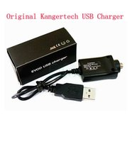 Wholesale 100 Genuine Kangertech USB Charger cable Electronic Cigarette Kanger USB Charger EVOD USB ego battery Charger Cable for Ipow mini spinner