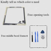 Wholesale Repair Parts Touch Screen Assembly For iPad2 For iPad ScreenTouch Digitizer Glass With Home Button Opening Tools Frame M