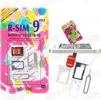 Wholesale Original R sim pro iphone Unlocking s Unlocked Gsm rsim pro Unlock sim Card Gevey Upgrade R sim For iphone S S C IOS