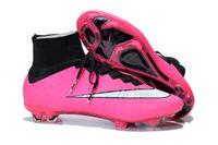 Wholesale Men s Mercurial Superfly FG AG CR7 FG Soccer Boots Cleats Laser Men shoes Soccer Shoes Football Shoes