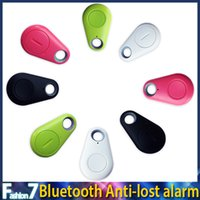 Wholesale Wireless Bluetooth Smart Anti Lost Tracker Finder Alarm Camera Remote Shutter Self timer IT iTag for iphone Samsung S6 HTC