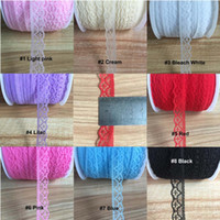decorative mesh - 100 Yards MM Color Polyester Mesh Lace Trim For Invitation Decorative Lace Embroidery Trim