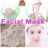 Wholesale Minimun Order Rose essential extract DIY facial maks Whitening Rejuvenation Spot solution Skin Moisturizing Face Mask g