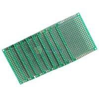 Wholesale 10pcs x6cm Double Side Prototype PCB Universal Printed Circuit Board S7NF