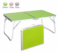 aluminium laptop table - Laptop table Simple study tables Lazy Folding tables Outdoor small table Children s desk BT173
