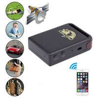 Wholesale Superior Mini SPY Vehicle GSM GPRS GPS Tracker or Car Vehicle Tracking Locator Device Mini Car Vehicle TK102B