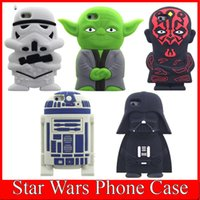 cartoon character - Star Wars D Cartoon Phone Case Master Character Figure Yoda Soft Silicone Back Cover Cases For Iphone SE S Plus Skin