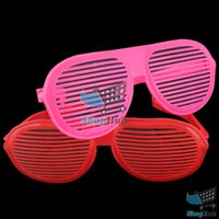 affordable costumes - ShopHub Affordable Super Large Shutter Sun Glasses Shades Costume Party Content