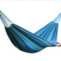 Cheap outdoor hammock Best green nylon