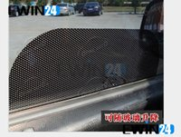 car curtains - 38 cm New Car Curtain Windshield Stickers Sun shade UV Protection Car Side Window Film pairs
