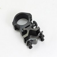 Wholesale Hunting Rifle accessories Optical Sight Scope Mount Bracket Holder Ring K185 flashlight clip Multifunction mm Ring
