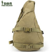 advanced riding - Freedom soldiers Outdoors Advanced Tactical diagonal chest bags Travel leisure Ride Bicycle Bag Unisex D Nylon Fabric YKK
