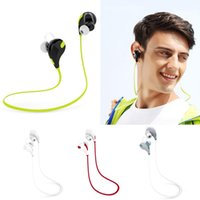 Cheap 2015 Hot Sales QY7 Mini Wireless Stereo Sports running Bluetooth Earbud Headphones Headset VA243 Free Shipping